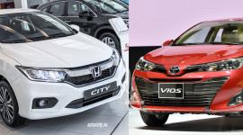 Toyota Vios 2018 và Honda City Top: Nên chọn xe nào?