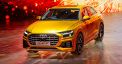 Trải nghiệm nhanh Audi Q8 2019: Đối thủ lớn BMW X6 và Mercedes GLE Coupe