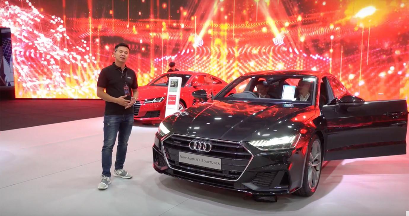 Tất tần tật về Audi A7 Sportback 2019 sắp về Việt Nam
