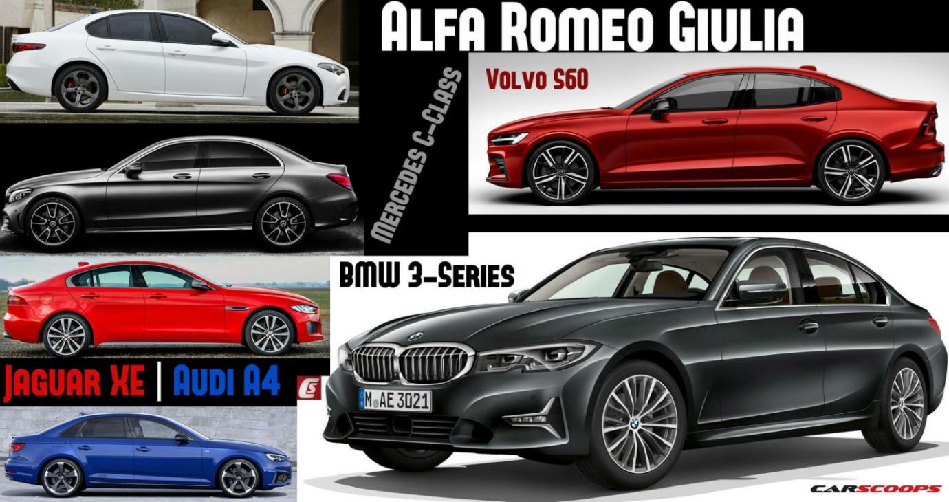 BMW 3-Series 2019 và những đối thủ cạnh tranh