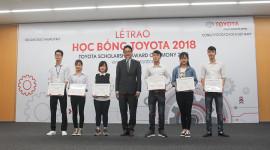 Toyota Việt Nam trao 115 suất học bổng cho sinh viên xuất sắc