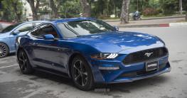 Ford Mustang 2018 màu lạ về Việt Nam, giá hơn 2,7 tỷ đồng