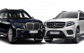 BMW X7 và Mercedes GLS: Cuộc song đấu quyết liệt
