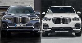 BMW X7 2019 và BMW X5 2019: Bạn chọn xe nào?