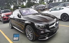 Ảnh nóng Mercedes-Benz S-Class Coupe 2018 sắp ra mắt tại VN