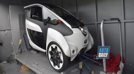 Xe ba bánh chạy điện Toyota I-Road xuất hiện tại Việt Nam