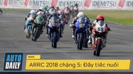 ARRC 2018 chặng 5: Tay đua Việt thi đấu dưới sức ép khổng lồ