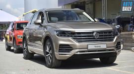 Hình ảnh đầu tiên Volkswagen Touareg 2019 sắp ra mắt tại VN