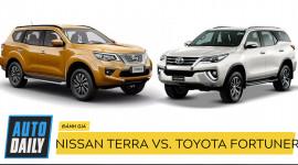 """Nissan Terra và Toyota Fortuner: Khi """"thánh"""" gặp đối thủ đáng gờm"""