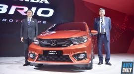 Honda Brio RS 2018 ra mắt thị trường Việt Nam