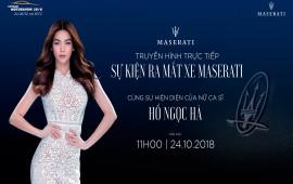 Trực tiếp Sự kiện ra mắt xe Maserati tại Triển lãm Ô tô Việt Nam 2018