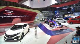 Gian hàng Honda tại VMS 2018: Thách thức và Đam mê