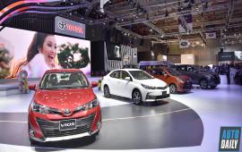 Toàn cảnh gian hàng Toyota tại Vietnam Motor Show 2018