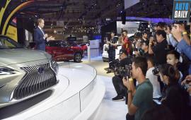 Trải nghiệm đẳng cấp Lexus tại Triển lãm Ôtô Việt Nam 2018