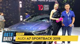Siêu mẫu Thanh Hằng nói gì về Audi A7 Sportback 2019