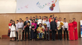 Toyota hỗ trợ tài năng trẻ âm nhạc Việt Nam 2018