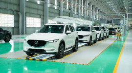 Mazda CX-5 sản xuất tại Việt Nam đạt tiêu chuẩn chất lượng Nhật Bản