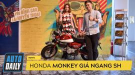 """Honda Monkey 125: """"Xe khỉ"""" giá ngang SH có gì đặc biệt?"""