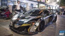 Ngắm McLaren 650S Spider độ gầm thấp thân rộng tại Hà Nội