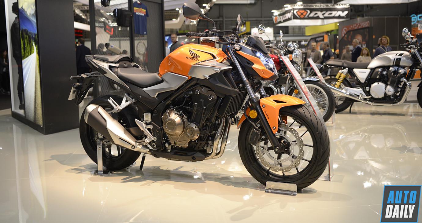 Diện kiến naked-bike Honda CB500F 2019