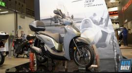 Honda SH300i 2018 bổ sung công nghệ kiểm soát lực xoắn