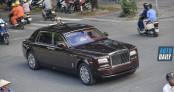 Rolls-Royce Phantom Hoà Bình Vinh Quang hơn 80 tỷ tái xuất tại HN