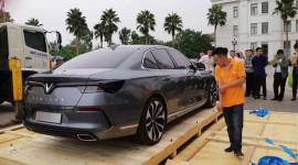 Xe sedan của VinFast Lux A2.0 về Việt Nam, chuẩn bị ra mắt