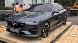 Thêm ảnh nóng Sedan VinFast Lux A2.0 tại Việt Nam