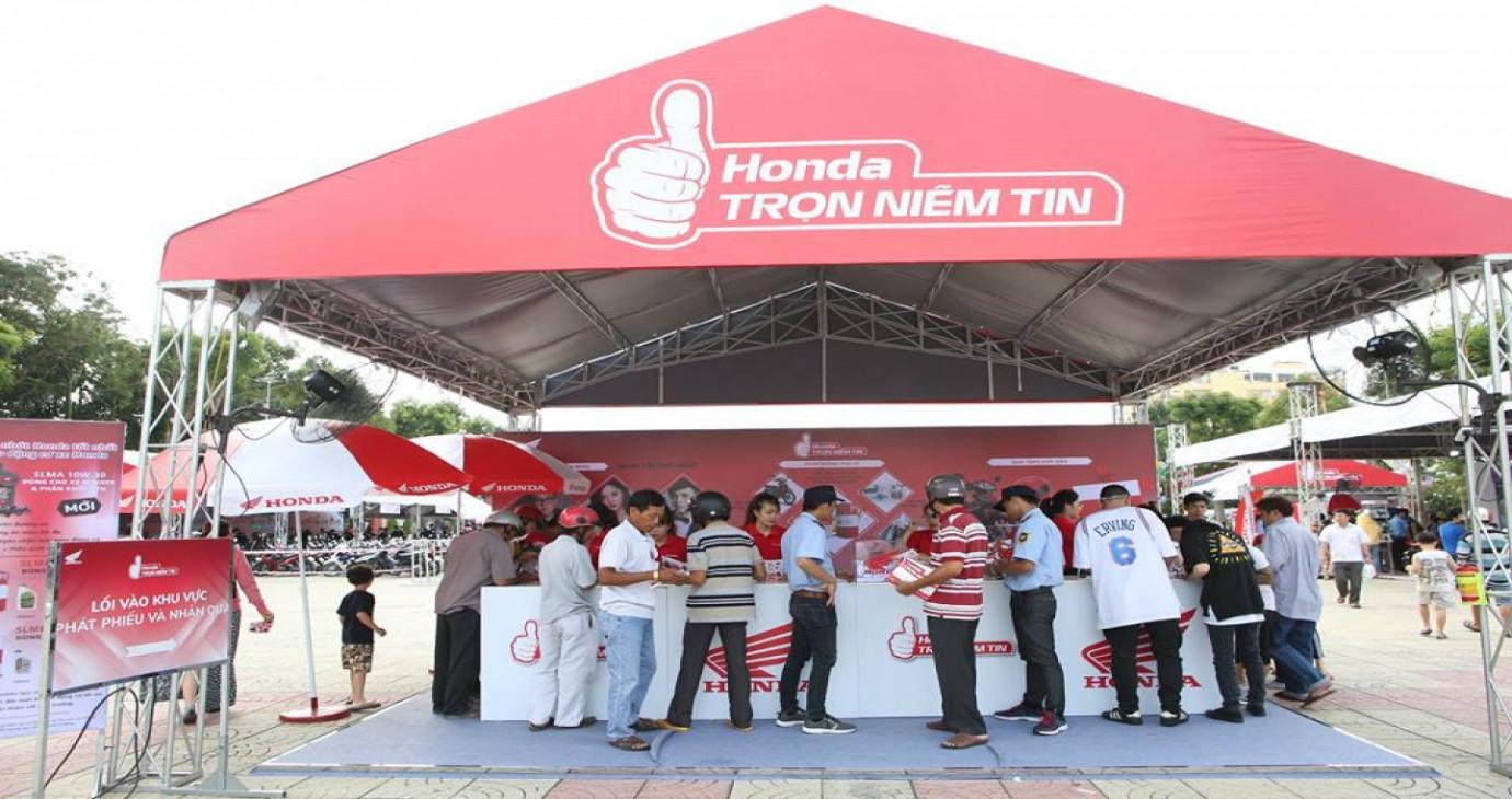 """Triển khai chương trình """"Honda – Trọn Niềm Tin"""" trong tháng 11"""