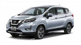 Nissan phát triển MPV dựa trên nền tảng Mitsubishi Xpander