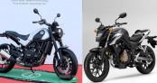 Mô tô 500cc, chọn Honda CB500F hay Benelli Leoncino?
