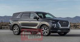 Rò rỉ hình ảnh Hyundai Palisade 2020 trước ngày ra mắt