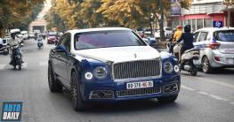 Bentley Mulsanne 2018 2 màu độc đáo, độ mâm cực chất tại HN