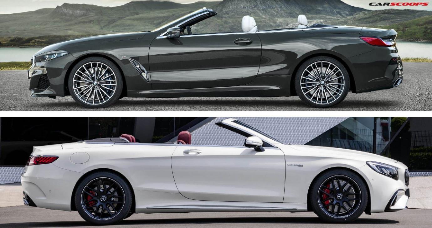 So sánh 2 tuyệt phẩm mui trần BMW 8-Series và Mercedes S-Class