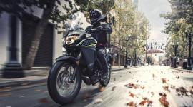 Xế địa hình Kawasaki Versys X300 2019 có thêm bộ áo mới