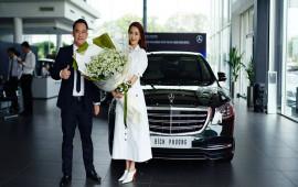 Ca sĩ Bích Phương tậu Mercedes-Benz S450 L 2018 giá 4,2 tỷ