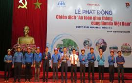 Honda Việt Nam triển khai chiến dịch ATGT tại Hà Nam lần thứ 3