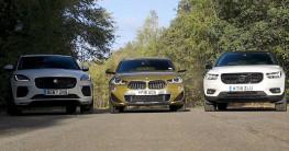 Volvo XC40, BMW X2 và Jaguar E-Pace: Cuộc cạnh tranh khốc liệt