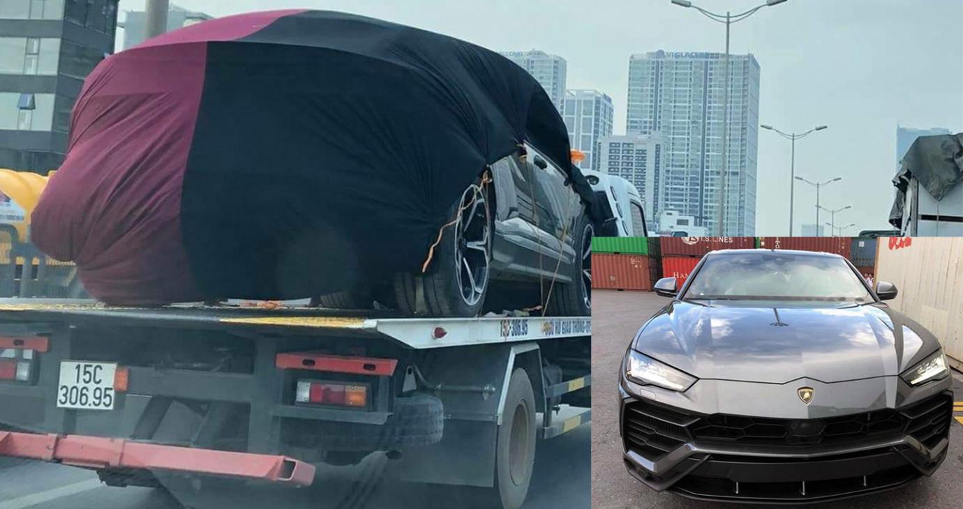 Siêu xe Lamborghini Urus thứ 2 về Việt Nam có mặt tại Hà Nội