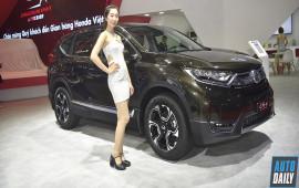 Honda CR-V nhận 2 giải thưởng của ASEAN NCAP về an toàn