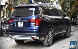 Honda Pilot cạnh tranh Explorer giá 3,5 tỷ trên phố Hà Nội