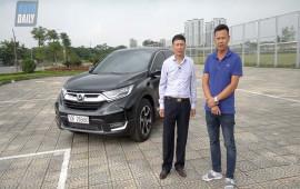 Đánh giá Honda CR-V 2018 qua chia sẻ của người dùng: Cực kỳ hài lòng