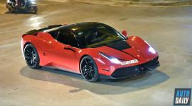 Siêu xe Ferrari 458 Italia độ hầm hố xuất hiện tại Hà Nội