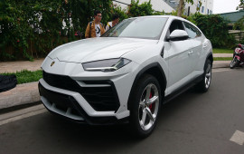 Siêu SUV Lamborghini Urus đầu tiên VN xuất hiện tại Sài Gòn