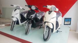 Cận cảnh xe máy điện VinFast tại đại lý, mở bán từ chiều mai