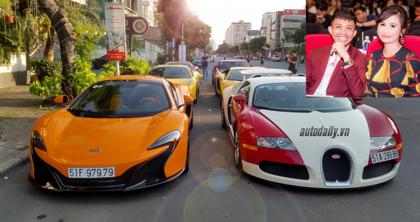 8 siêu xe khủng, hiếm từng qua tay đại gia Minh Nhựa