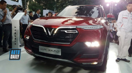 VinFast Lux SA 2.0 - SUV mang thương hiệu Việt giá 1,136 tỷ