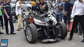 Thợ Việt độ Honda CBR1000RR thành xe bốn bánh siêu khủng