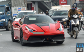 Chiêm ngưỡng Ferrari 458 Italia độ bodykit Misha độc nhất VN