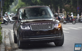Range Rover HSE 2018 màu độc giá hơn 8 tỷ của nữ đại gia Hà Nội
